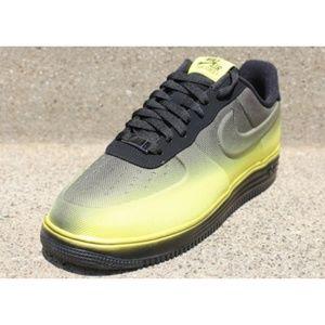 Nike Air Lunar Force VT Mesh Sneakers 13 Yellow